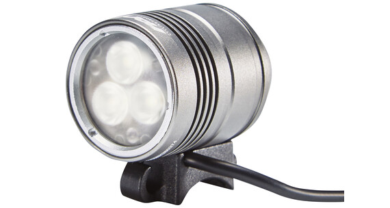 Red Cycling Products Night Beamer helmlamp 1500 lumen zilverkleurig